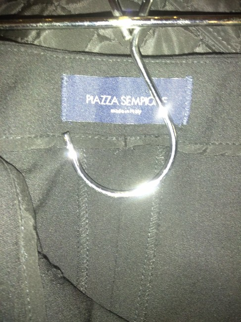 Piazza Sempione Straight Pants Black