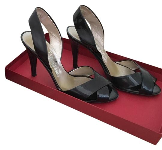 Preload https://img-static.tradesy.com/item/22183942/salvatore-ferragamo-black-patent-strap-sandals-size-us-7-regular-m-b-0-1-540-540.jpg