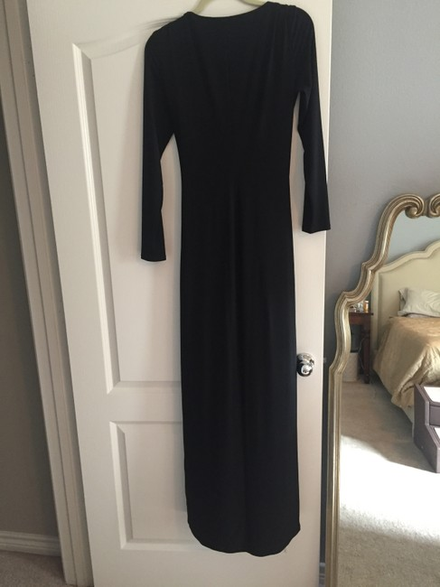 Lauren Ralph Lauren Gown Embellished Longsleeve Chic Classic Dress