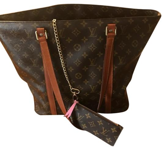 Preload https://item4.tradesy.com/images/louis-vuitton-shopping-lv-shopper-sac-brown-canvasleather-tote-22183998-0-1.jpg?width=440&height=440