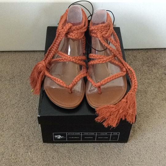 Forever 21 Dusty pink (Coral) Sandals