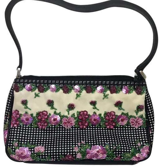 Preload https://img-static.tradesy.com/item/22184051/isabella-fiore-embellished-flower-purse-canvas-shoulder-bag-0-1-540-540.jpg