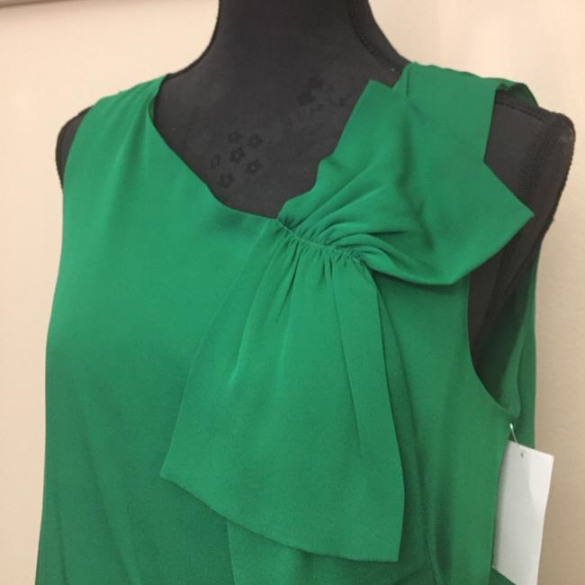 MILLY Top emerald green