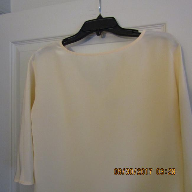 Madewell Silk Chic Effortless Top Ivory
