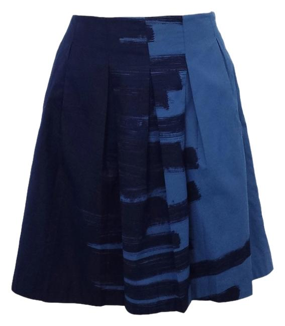 Preload https://img-static.tradesy.com/item/2218424/vince-blue-brushstroke-print-cotton-pleated-size-4-s-27-0-0-650-650.jpg