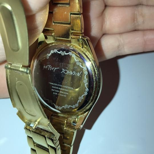 Betsey Johnson Gold Plated Watch