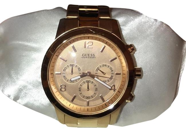 Guess Rose Gold Chronograph Watch Guess Rose Gold Chronograph Watch Image 1