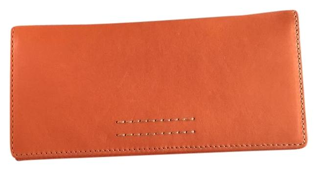 Frye Pumpkin with A Saddle Color Leather Interior Harness Wallet Image 1