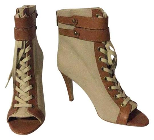 Preload https://item3.tradesy.com/images/ash-beigebrown-new-canvas-lace-up-bootsbooties-size-eu-385-approx-us-85-regular-m-b-22184427-0-1.jpg?width=440&height=440