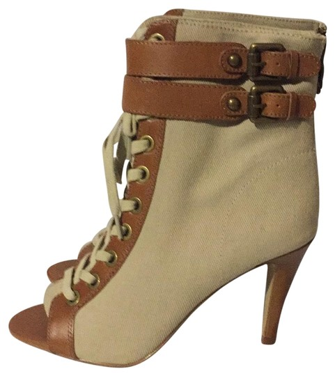 Preload https://img-static.tradesy.com/item/22184427/ash-beigebrown-new-canvas-lace-up-bootsbooties-size-eu-385-approx-us-85-regular-m-b-0-3-540-540.jpg