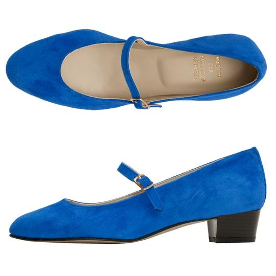 Preload https://item2.tradesy.com/images/american-apparel-blue-mary-jane-pumps-size-us-7-narrow-aa-n-22184456-0-4.jpg?width=440&height=440