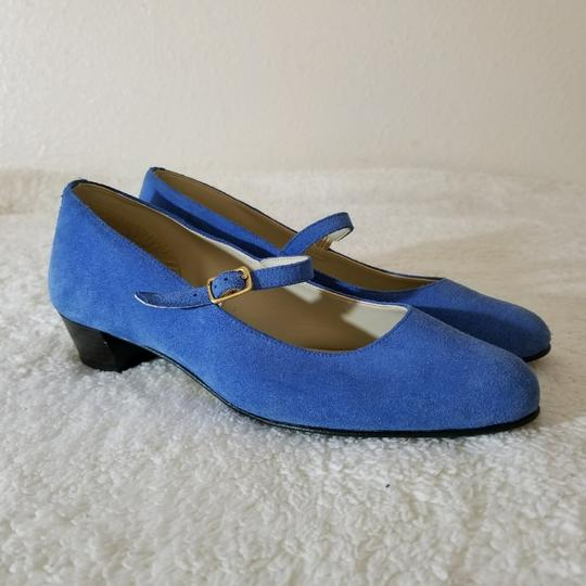 American Apparel Blue Pumps