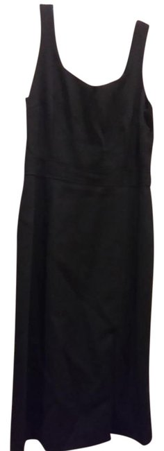Item - Black Fitted Long Work/Office Dress Size 8 (M)