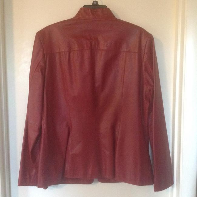 Classiques Entier ( Nordstrom) Red Leather Jacket