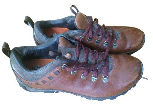 Merrell Brown Hiking Boots/Booties Size US 8.5 Regular (M, B) Merrell Brown Hiking Boots/Booties Size US 8.5 Regular (M, B) Image 1