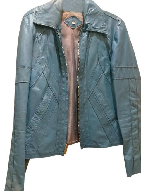 Preload https://item5.tradesy.com/images/blue-vintage-bright-leather-size-6-s-22184634-0-1.jpg?width=400&height=650