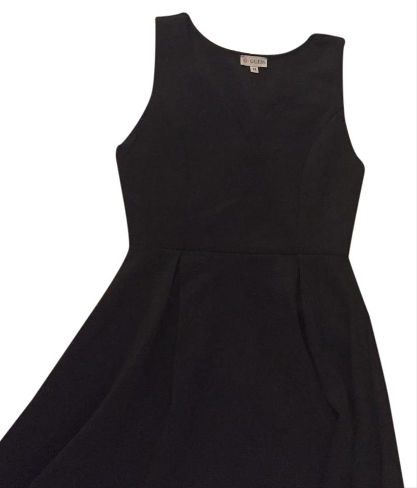 Guess Black Neverfull Mid-length Cocktail Dress Size 10 (M) - Tradesy