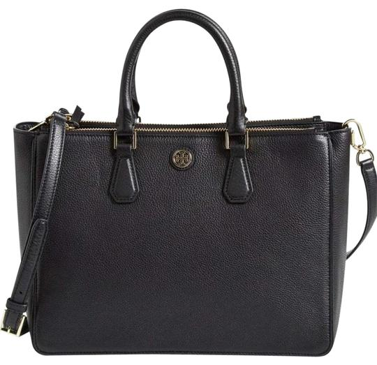 Preload https://img-static.tradesy.com/item/22184664/tory-burch-robinson-large-black-leather-tote-0-1-540-540.jpg