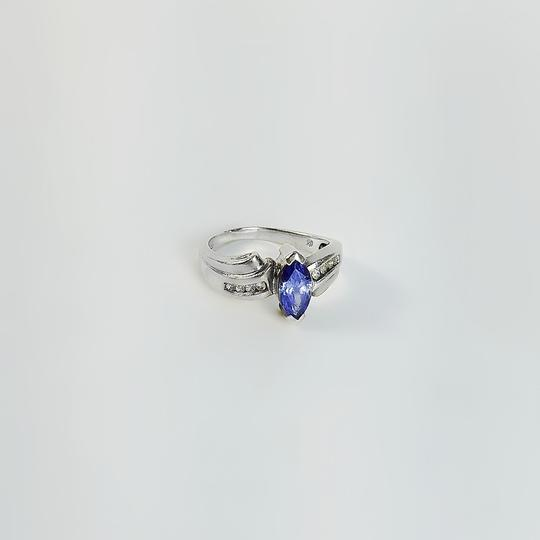 Other Multistone Sterling Ring Size 7.75