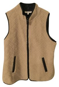 Talbots Sherpa Classic Quilted Vest