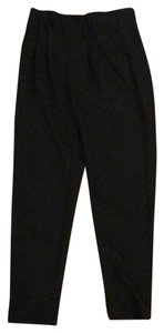 MILLY Straight Pants black