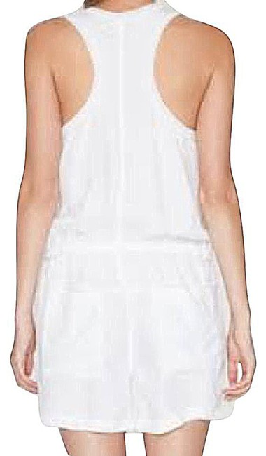 Johnny Was Wardrobe Staple Up Or Down Front Button Closure V Neck Racerback Dress