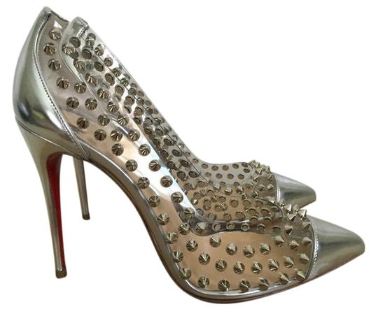 Preload https://item5.tradesy.com/images/christian-louboutin-silver-spike-me-100-pvc-pointed-pumps-size-eu-37-approx-us-7-regular-m-b-22184839-0-1.jpg?width=440&height=440