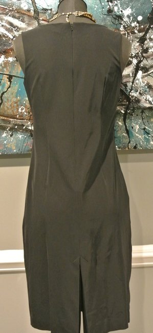 Kenneth Cole New Designer Sexy Leather Dress
