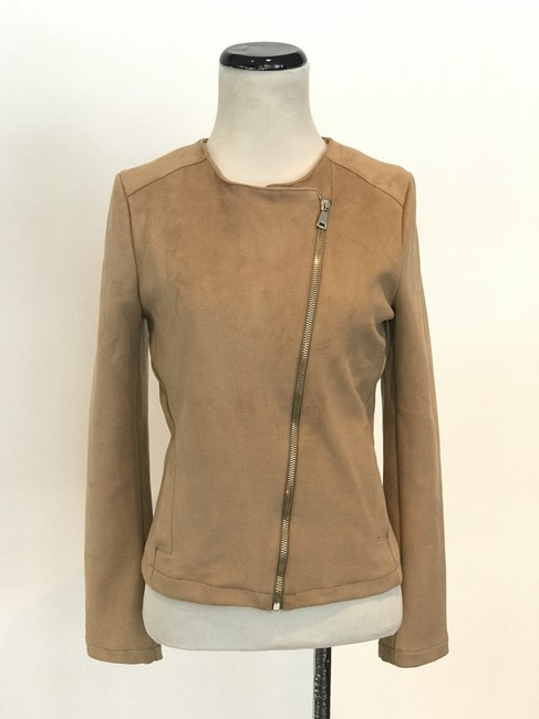 Preload https://item3.tradesy.com/images/beige-faux-suede-size-4-s-22184892-0-2.jpg?width=400&height=650