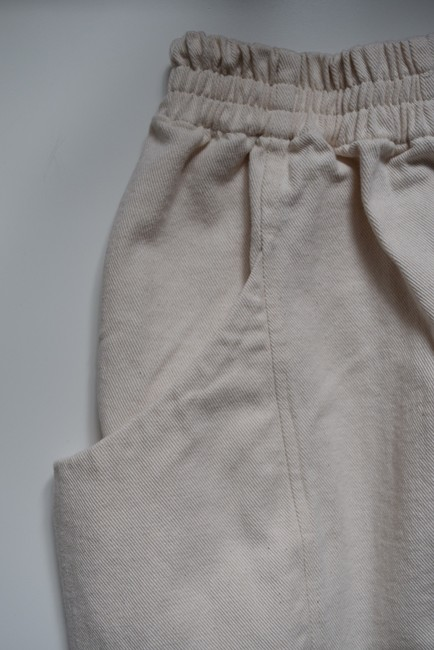 Elizabeth Suzann Made In Usa Clyde Moon Pockets Clyde Trouser Pants White Image 4