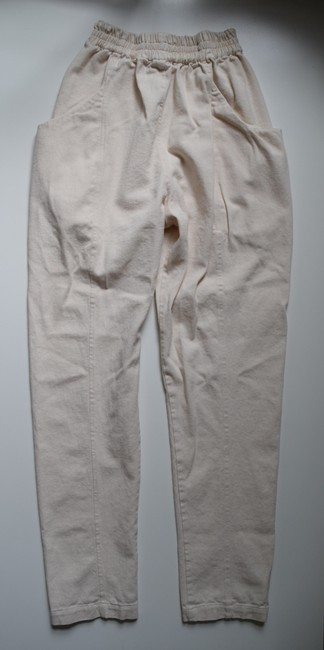 Elizabeth Suzann Made In Usa Clyde Moon Pockets Clyde Trouser Pants White Image 5