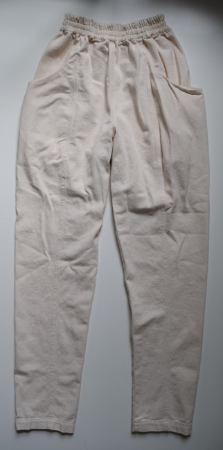 Elizabeth Suzann Made In Usa Clyde Moon Pockets Clyde Trouser Pants White Image 6