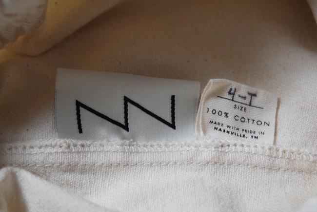 Elizabeth Suzann Made In Usa Clyde Moon Pockets Clyde Trouser Pants White Image 8