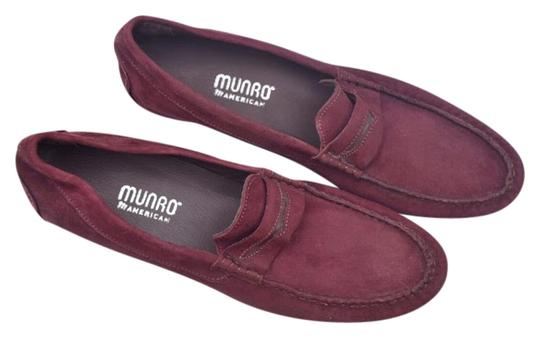 Preload https://item3.tradesy.com/images/munro-american-burgundy-suede-loafers-flats-size-us-11-narrow-aa-n-22184917-0-1.jpg?width=440&height=440
