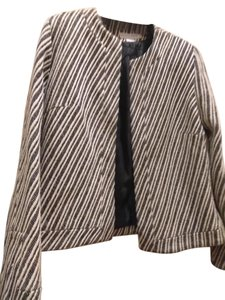 Garfield & Marks Black white stripe Jacket