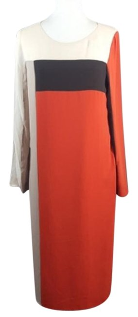 Preload https://img-static.tradesy.com/item/22184978/bcbgmaxazria-redcreambrown-bcbg-the-joon-cocktail-dress-size-6-s-0-1-650-650.jpg