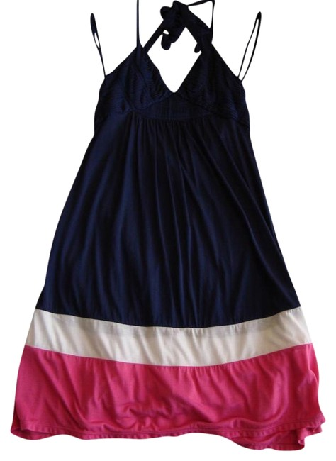 Preload https://item3.tradesy.com/images/bcbgmaxazria-navy-blue-rouched-halter-mid-length-short-casual-dress-size-4-s-22184982-0-2.jpg?width=400&height=650