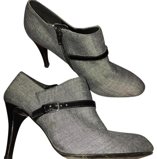Nine West Grey black Boots