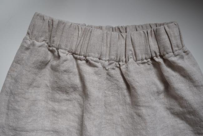 Elizabeth Suzann Made In Usa Linen Linen Tilda Trouser Pants Beige Image 7