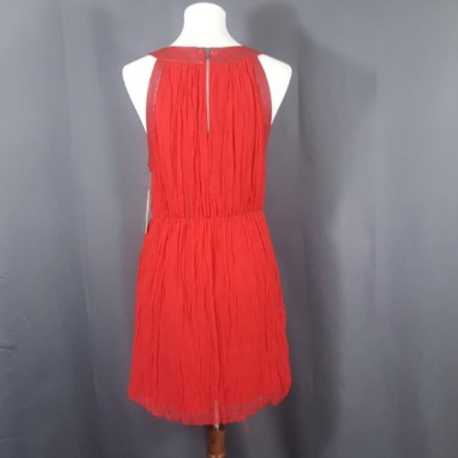 Alice + Olivia short dress RED Party Night Out Date Night Chic Holiday on Tradesy