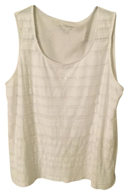 Preload https://item1.tradesy.com/images/chico-s-white-tank-topcami-size-12-l-22185075-0-1.jpg?width=400&height=650