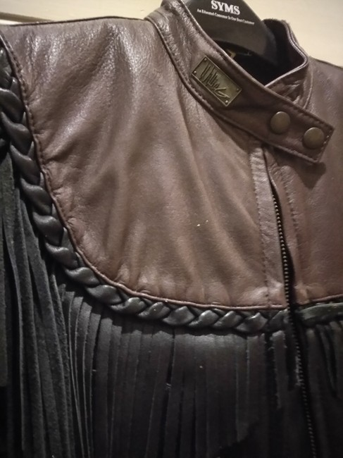 Harley Davidson Dark brown black Jacket