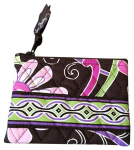 Vera Bradley Vera Bradley Purple Punch Zip Top Coin Purse