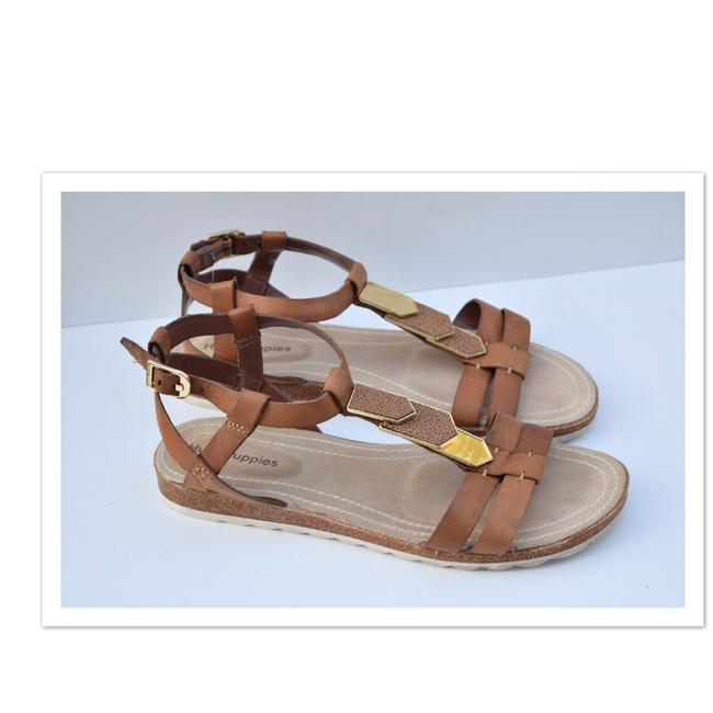 Hush Puppies Tan Gladiator Sandals Size US 9 Regular (M, B) Hush Puppies Tan Gladiator Sandals Size US 9 Regular (M, B) Image 1