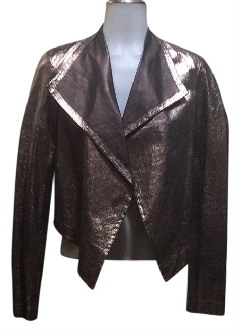 Preload https://item1.tradesy.com/images/nicole-miller-leather-jacket-size-4-s-22185325-0-1.jpg?width=400&height=650