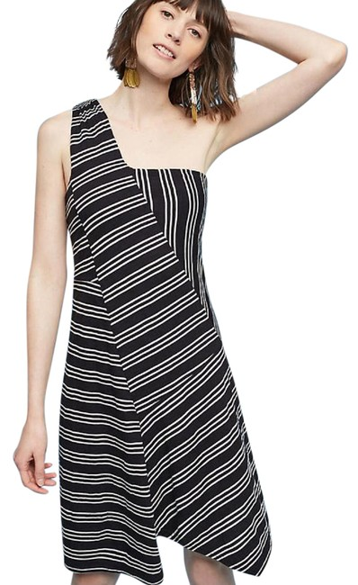 Preload https://item5.tradesy.com/images/anthropologie-black-maeve-moka-one-shoulder-small-mid-length-short-casual-dress-size-6-s-22185399-0-1.jpg?width=400&height=650