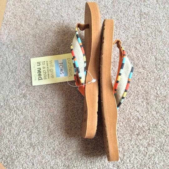 TOMS Multicolored Sandals