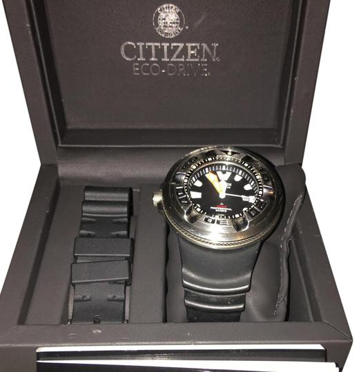 Preload https://img-static.tradesy.com/item/22185770/citizen-black-band-with-silver-stainless-steel-face-professional-diver-model-bj8050-08e-watch-0-1-540-540.jpg