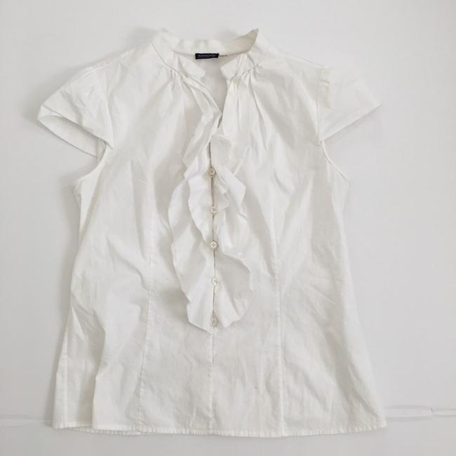 Magaschoni Button Down Shirt White