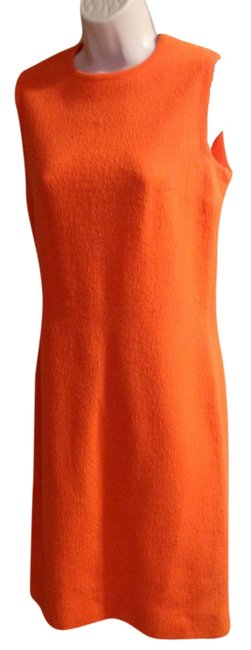 Preload https://item2.tradesy.com/images/tangerine-wool-vintage-by-mid-length-short-casual-dress-size-4-s-22185946-0-1.jpg?width=400&height=650
